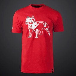 Amstaff Logo Shirt - red