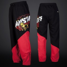 Amstaff Slink Sweatpants - black/red