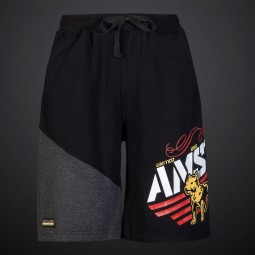 Amstaff Bizkit Sweatshorts - black/grey