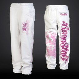 Merah Sweatpants - white