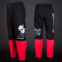 Amstaff Karpan Sweatpants - black/red