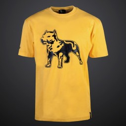 Amstaff Logo Shirt - yellow