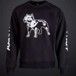 Amstaff Logo Sweater - black