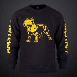 Amstaff Logo Sweater - yellow