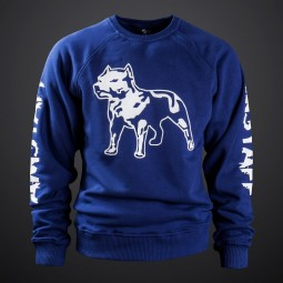 Amstaff Logo Sweater - navy