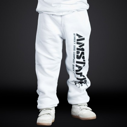 Kids Sweatpants - white